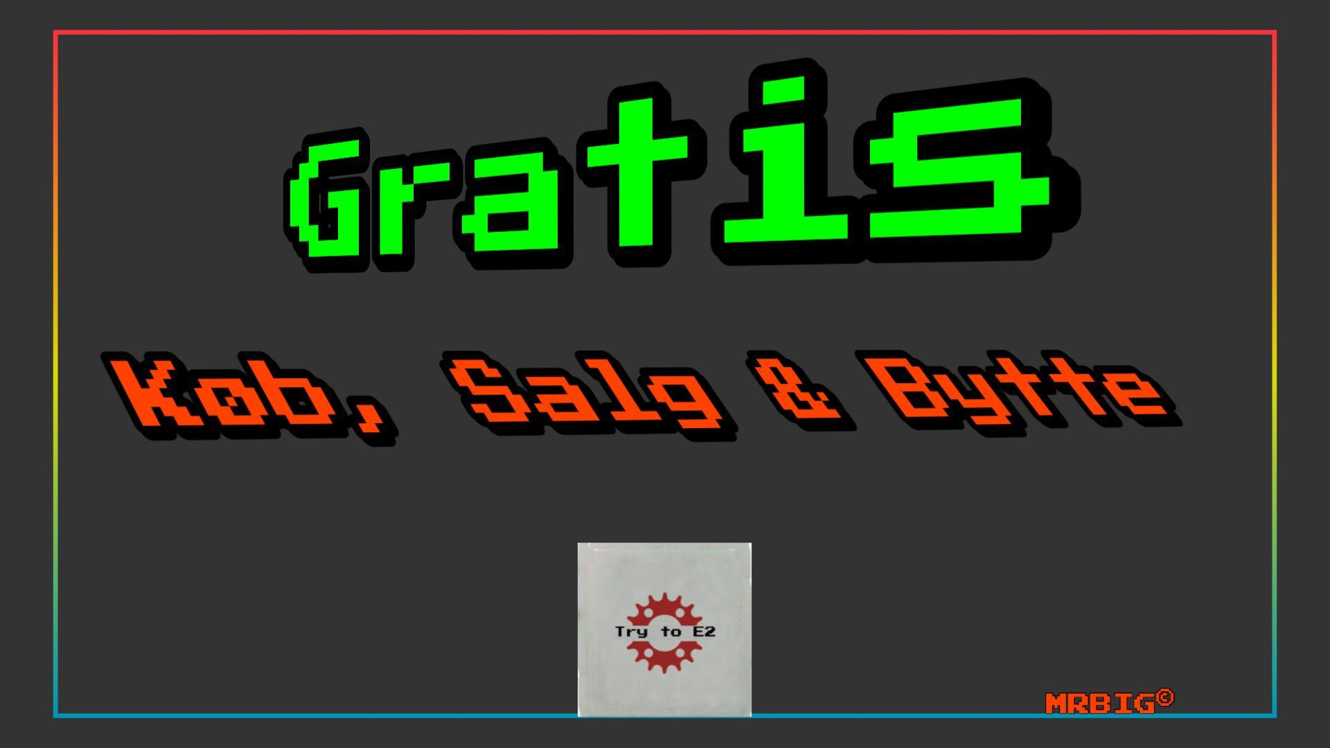 Køb, Salg & Gratis