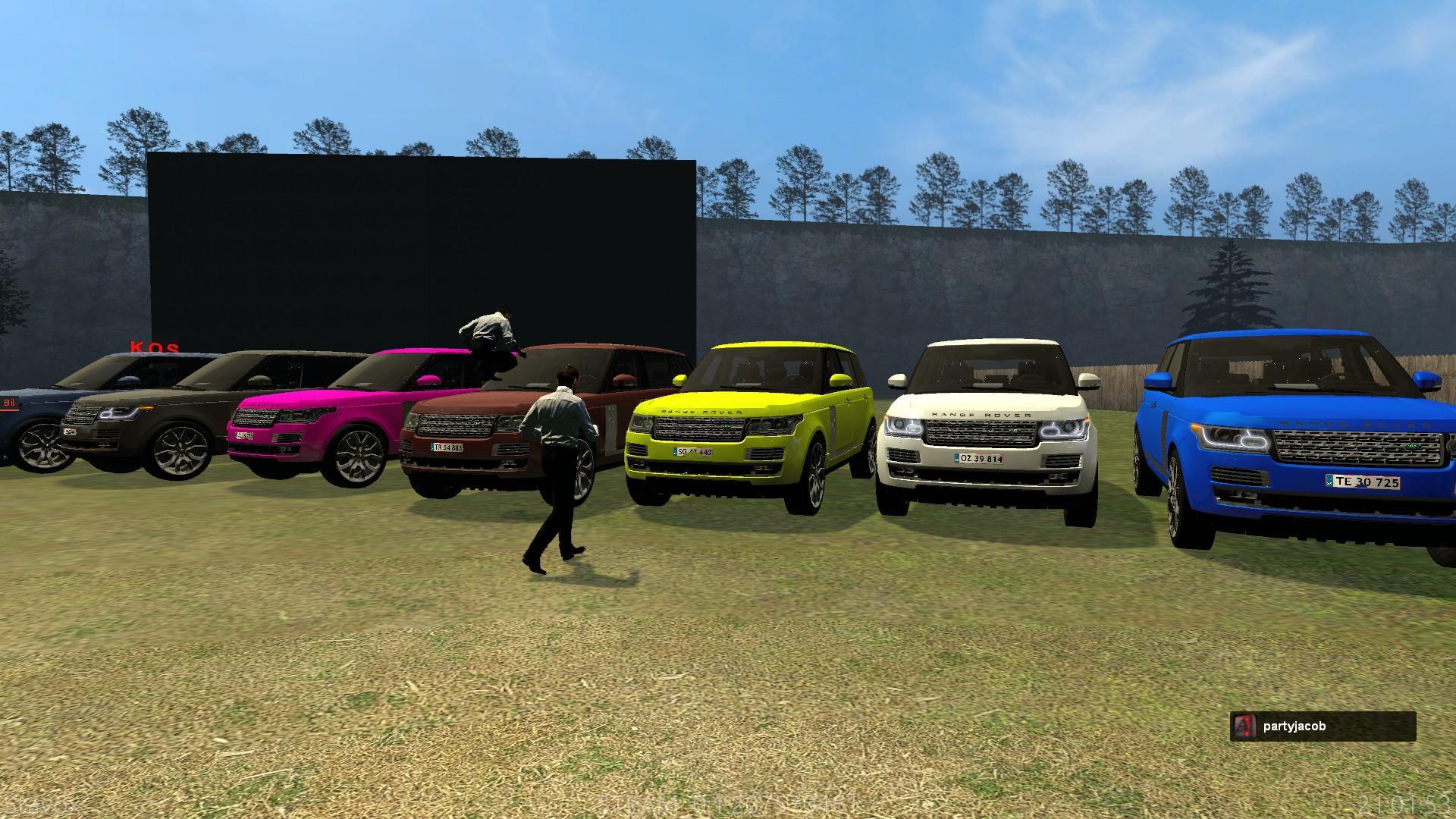 Range Rover Klubben - Limited biler