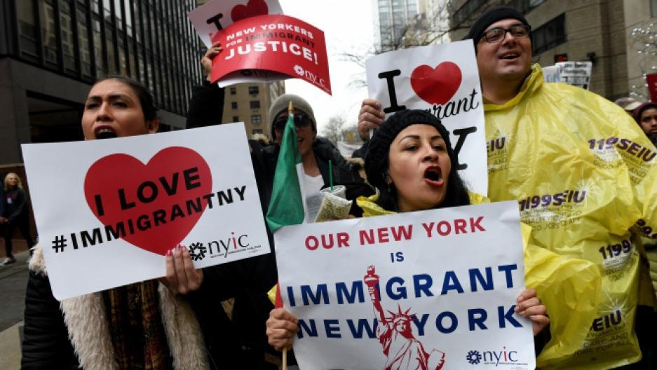 De mexicanske Immigranter